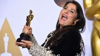 Pakistan's Sharmeen Obaid Chinoy: The Oscar double winner - BBC News