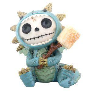 Furry Bones - Dragon - Figurine