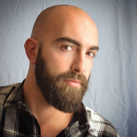 Men Sstyle Bald Men S Style Bald Head With Beard Beard Styles Bald Bald Men With Beards