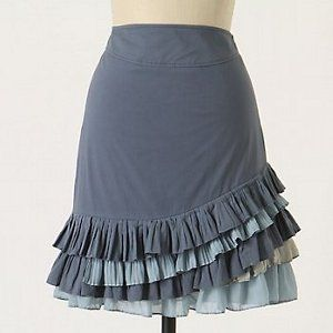 The Anthropologie Ruffled Skirt Tutorial is a beautiful project that will look good on any body type. If you don't know how to make skirts, this tutorial is the perfect way to learn.