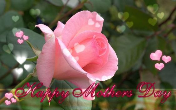Happy Mothers Day to my Family and Friends. Hope all have a wonderful and beautiful day.