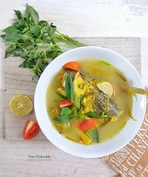 Resep Masakan Nusantara Sayur Asem Ikan Bandeng Resep Masakan Resep Masakan Indonesia Resep