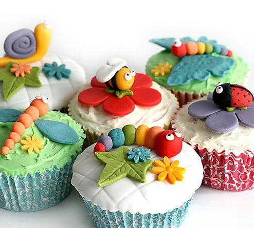 Picnic Bug Cupcakes