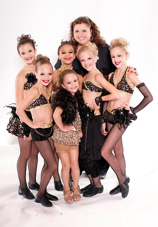 Dance Moms!  I'm addicted to this show.  It's like watching a train wreck.  You feel bad about what's happening but you can't take your eyes away.