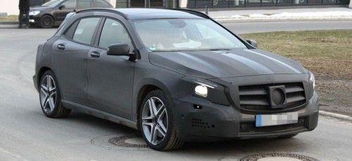 #Erlkönig erwischt: #Mercedes #GLA 45 #AMG