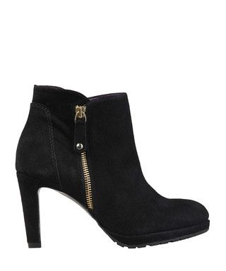 Thea black suede ankle boots Sale - Versace 1969 Sale   Shoes ...