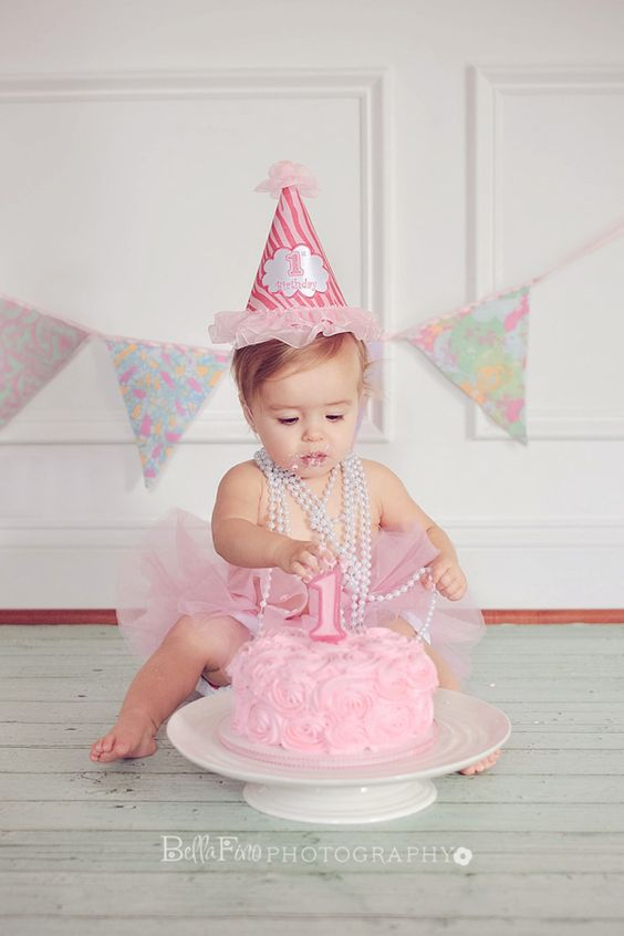 Baby Girl Cake Smah