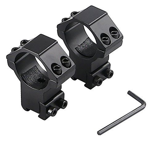 Higoo 118 Inch30mm 2pcs High Profile Scope Ring Mount Optics Tactical Riflescope Ring Fits 11mm Rail You Can Get Additional Ring Fit Ring Mountings Tactical