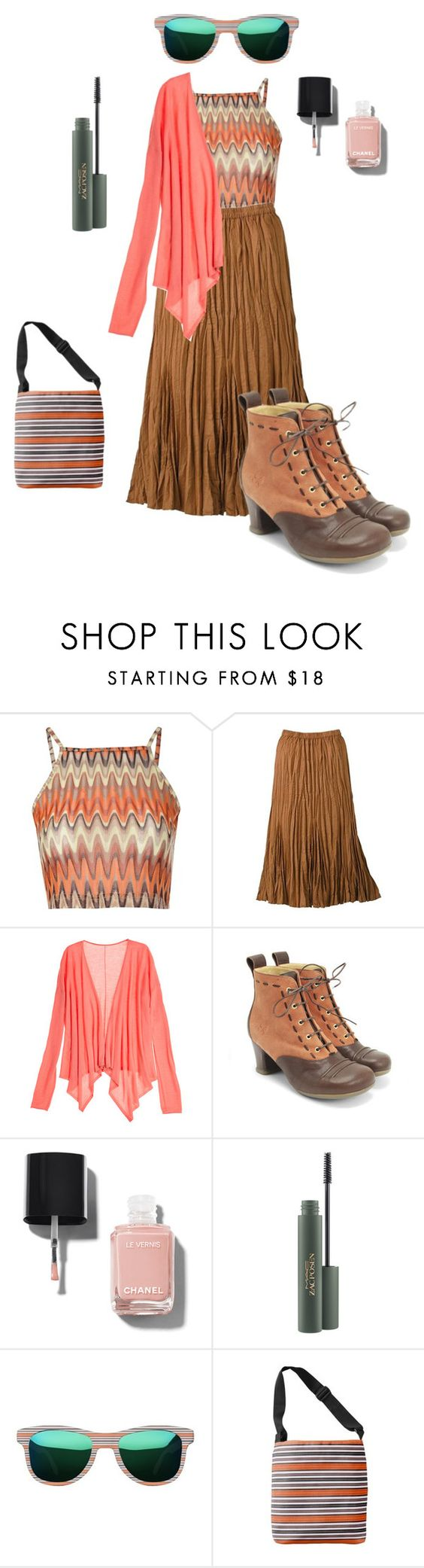"""""""me"""" by shelli-fitzpatrick ❤ liked on Polyvore featuring Glamorous, TravelSmith, Calypso St. Barth, John Fluevog, Chanel, MyFashionStyle and plus size clothing"""