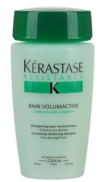 This 8.5-ounce hair shampoo features a proprietary formula that treats fine, vulnerable hair. It reinforces the inner substance of fine and fly away hair to reinforce fullness and volume.