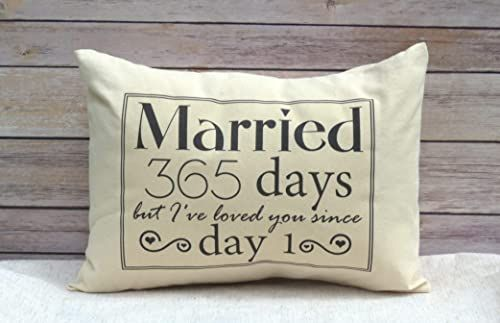 New 1st Anniversary Cotton Gift Anniversary Married For 365 Days But I Ve Loved Y In 2020 Marriage Anniversary Gifts 1st Anniversary Gifts First Wedding Anniversary