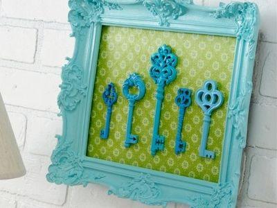 10 Stunning DIY Skeleton Key Art