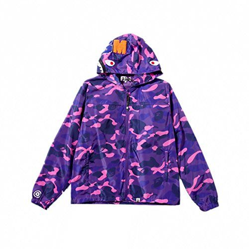 Men/'s A Bathing Ape Bape Colorful Coat Candy Camo Sweater Casual Hooded Jacket