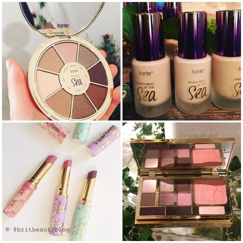 TARTE RAINFOREST OF THE SEA collection spring 2016