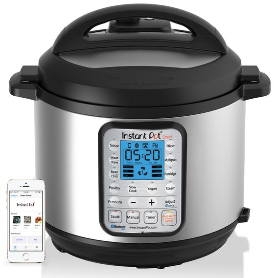 Instant Pot - multi-tasking cooker. Info re boiled water canning v. pressure canning addressed at http://instantpot.com/faq/faq-before-you-buy-your-instant-pot/. Pressure canning not researched by company. :( Link given for USDA canning guide.