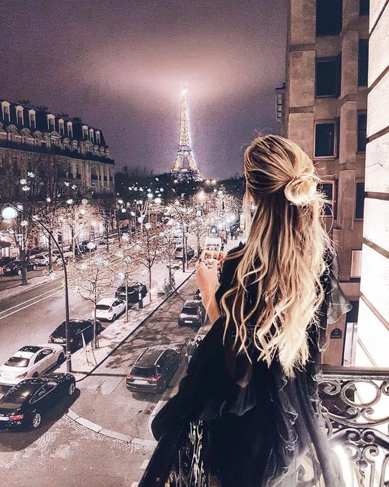 Vivienne in Paris.
