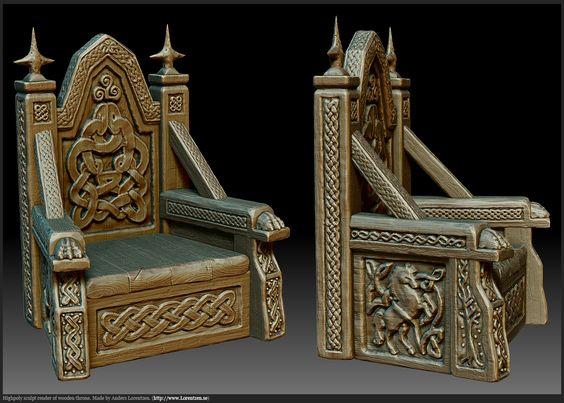 Pics photos king throne chair - Celtic Throne Google Search Set Ideas Pinterest