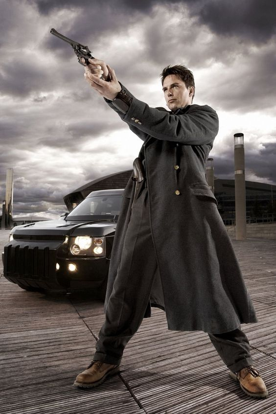 Captain Jack Harkness is a fictional character played by John Barrowman in Doctor Who and its spin-off series, Torchwood. Description from pinterest.com. I searched for this on bing.com/images