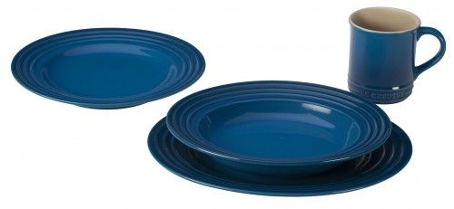 Le Creuset now makes dinnerware!