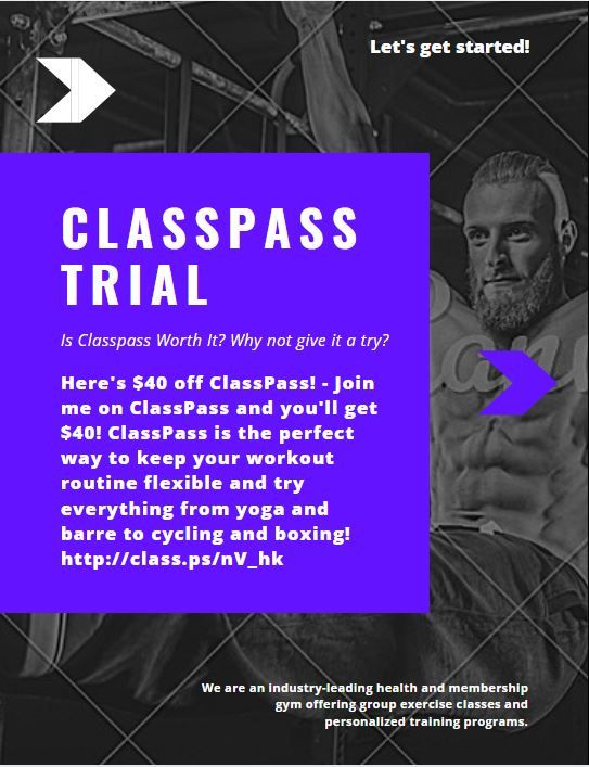 Facts About Classpass Free Month Revealed