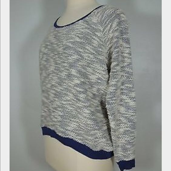 Nine West sweater Vintage America collection NWOT! Lightweight - oversized. Longer in the back. Scoop neck Nine West Sweaters