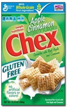 Gluten Fre Chex® Apple Cinnamon