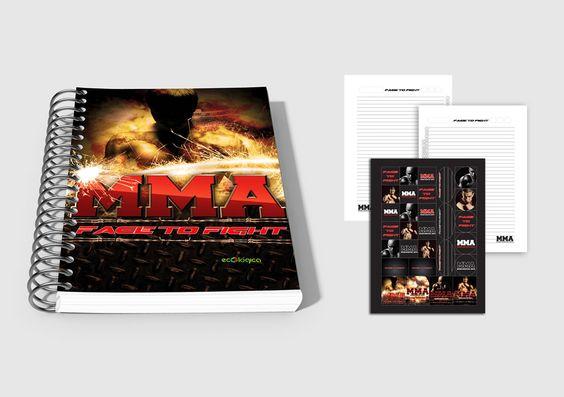 Caderno Universitário   Face to Fight 2013