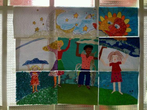 Mural puzzle para conmemorar el Día de la Mujer