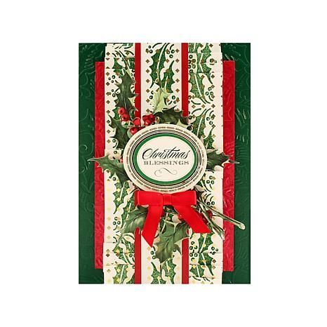 Anna Griffin® Holiday Rollagraph with Handle, 2016