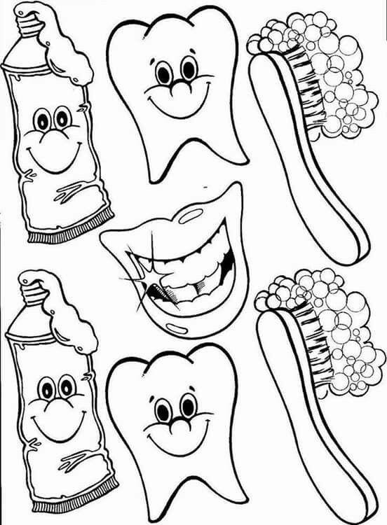 Pin De Pun Klai En Project Cuidado Dental Higiene Bucal Ninos Habitos De Higiene