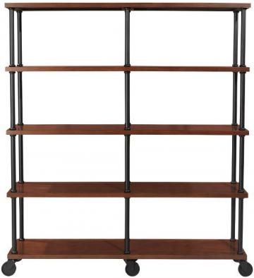 A Double Bookshelf For That Large Empty Wall In Your Room