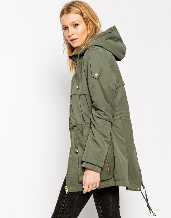 ASOS Summer Ultimate Parka $108.71 | Fashion - Coats/Jackets ...