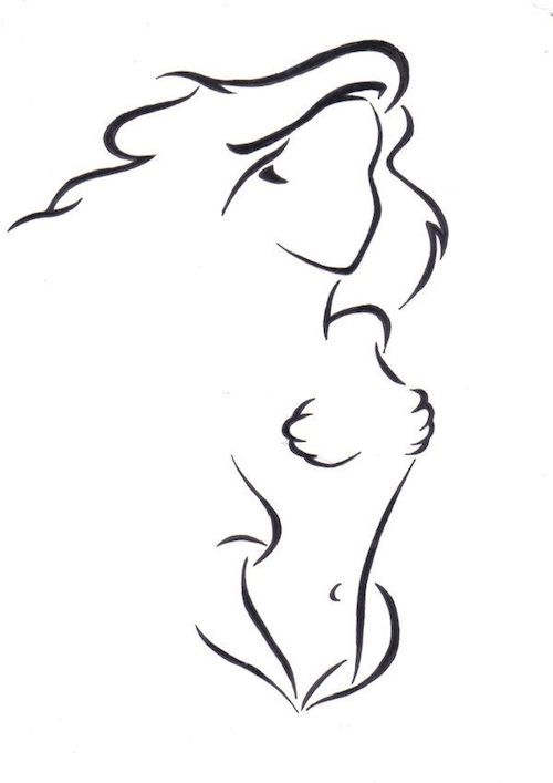 Tatouage disney ariel de la petite sirène / Disney tattoo inspirations from www.morganewho.com