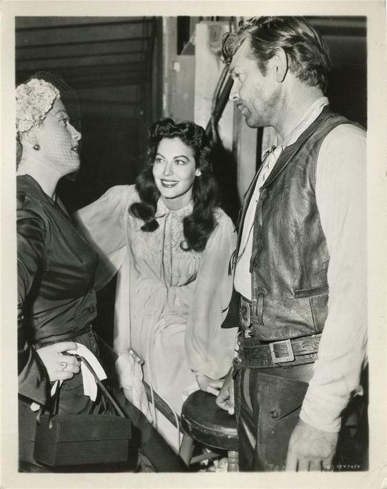 Clark Gable and Ava Gardner 1952: