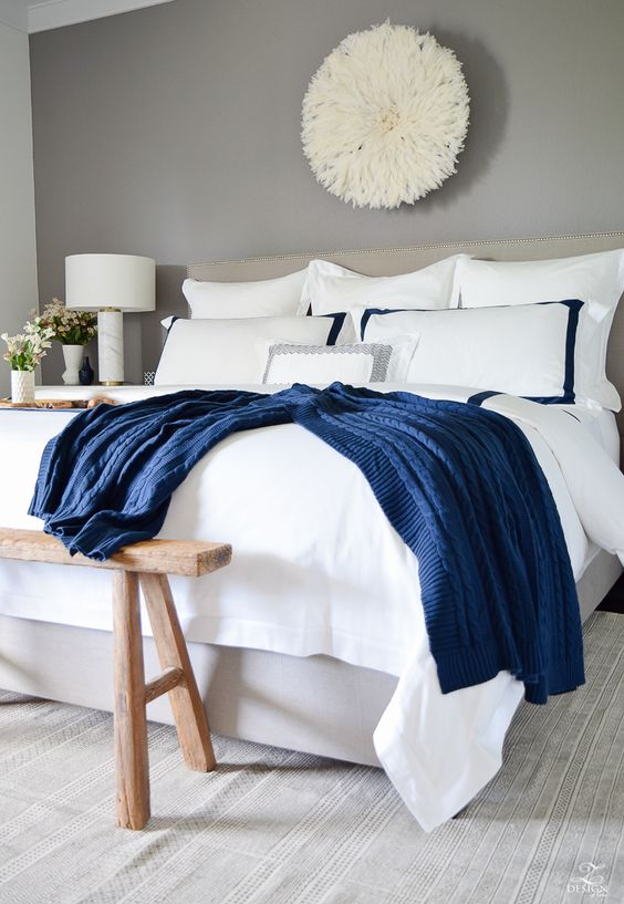 Review Of Boll Branch Sheets White Hotel Bedding With Navy Band Navy Cable Knit Throw Softest Sheets The Best Bedding Zd Perfect Bedding Cool Beds Cozy House