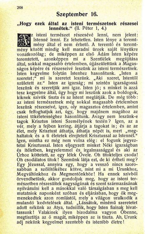 09.16. Spurgeon: Harmatgyöngyök...