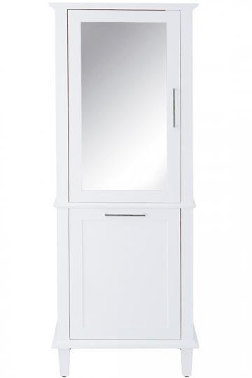 Sonoma Linen Cabinet - Linen Cabinet With Hamper - Linen Cabinets - Linen  Storage Cabinet -