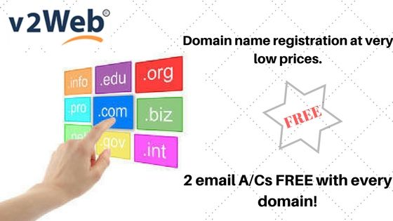 Domain Name Registration At Very Low Prices Buy Com In Net Org Domain Names 2 Email A Cs Free With Every Web Hosting Domain Registration Buy Domain