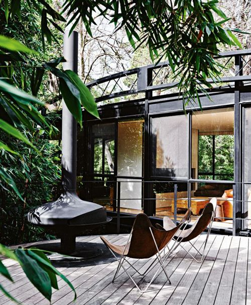 Robin Lechner Interior Designs What Room Is Considered As: Fireplaces, Black Home And