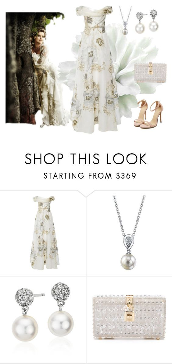 """""""Untitled #109"""" by jovana-p-com ❤ liked on Polyvore featuring moda, Marchesa, Blue Nile y Dolce&Gabbana"""
