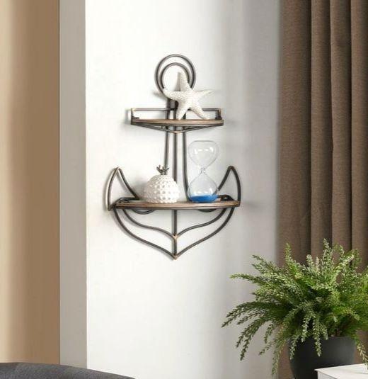 Decorative Wall Shelves With A Coastal Nautical Theme Wall Shelves Nautical Shelves Home Decor