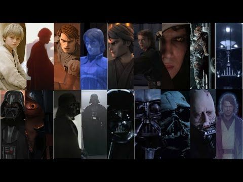 Rise Fall And Redemption The Story Of Anakin Skywalker Youtube Anakin Skywalker Star Wars Episodes Skywalker