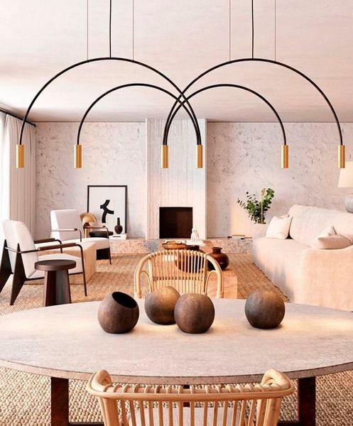 Curves Come Interior Trends 2021 Lighting Design Interior Living Room Designs Trending Decor Living room design trends 2021