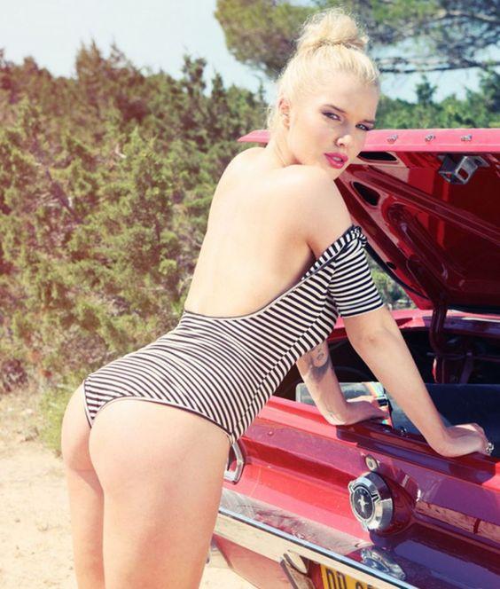 Hottest bikini model