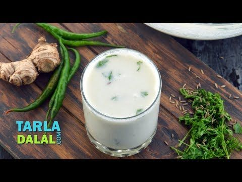 Chaas Buttermilk Recipe Salted Chaas Recipe Plain Chaas Recipe With Detailed Step By Step Photos And Video C Buttermilk Recipes Homemade Buttermilk Recipes