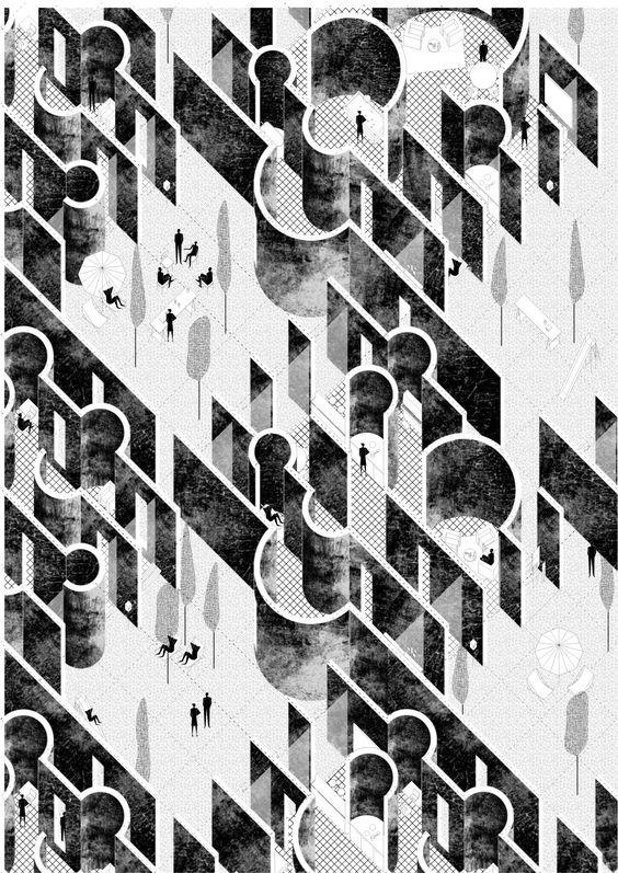 Léonor Mégrot-Desallais Faculté d'Architecture La Cambre-Horta ULB – Bruxelles - Master inspired by  Aldo Van Eyck