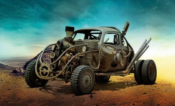 Mad Max Fury Road VW Beetle