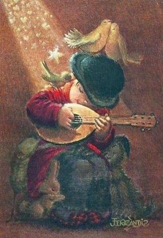 VINTAGE, EL GLAMOUR DE ANTAÑO: Ferrándiz, la cara más tierna de la Navidad: