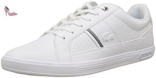 U.S. Polo , Chaussures de ville à lacets pour homme Blanc Weiß/White - Blanc - Weiß/White, 45 EU / 11 UK EU