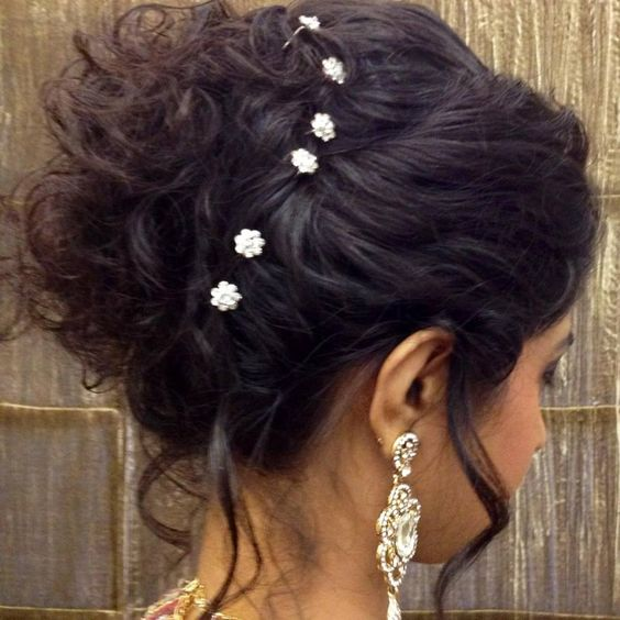 Latest Indian Hairstyle For Wedding: Indian Bridal Hairstyle Hair Bun